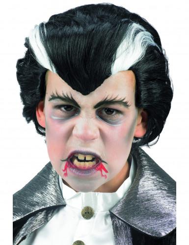 Perruque vampire Halloween enfant