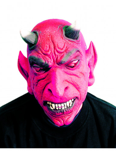 Masque diable adulte Halloween