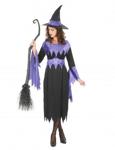 Déguisement de sorcière Halloween femme