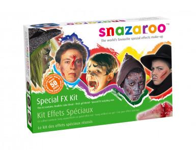 Kit effets spéciaux blessures Halloween Snazaroo