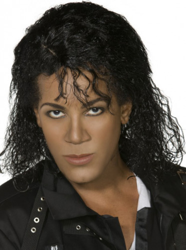 Perruque Michael Jackson Bad