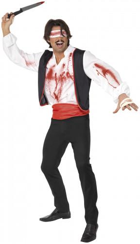 Déguisement lanceur de couteau du cirque homme Halloween