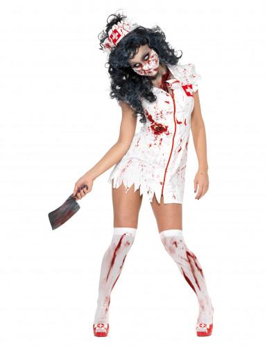 Déguisement infirmière zombie femme Halloween