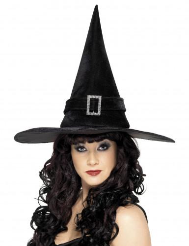 Chapeau sorcière noir adulte Halloween