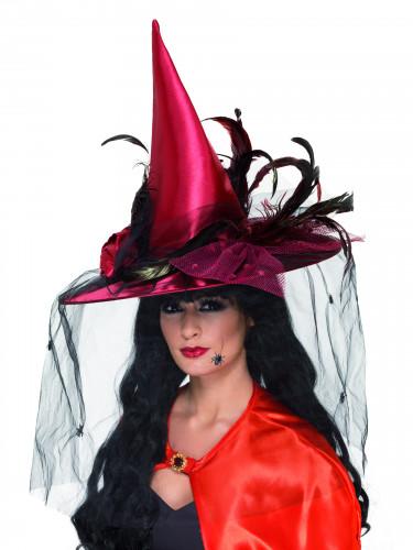 Chapeau Sorcière Luxe adulte Halloween