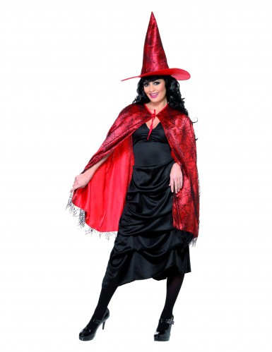 Kit chapeau et cape adulte Halloween