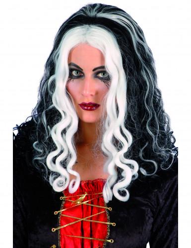 Perruque reine sorcière femme Halloween