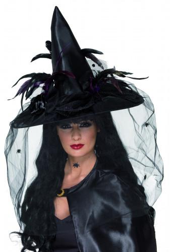 Chapeau de sorcière de luxe adulte Halloween