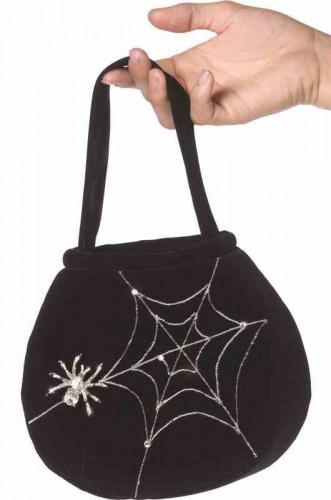 Sac motifs araignée Halloween
