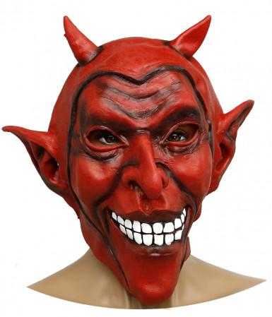 Masque de diable adulte Halloween