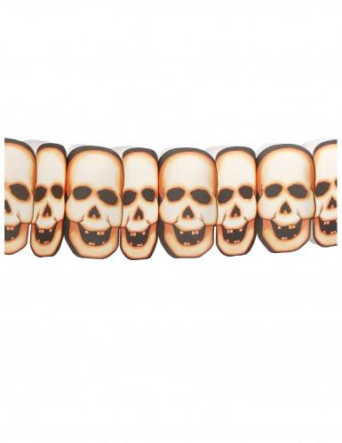 Guirlande têtes de mort Halloween