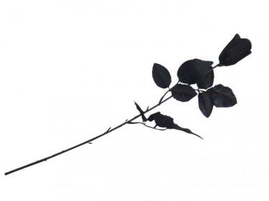 Rose noire de décoration Halloween