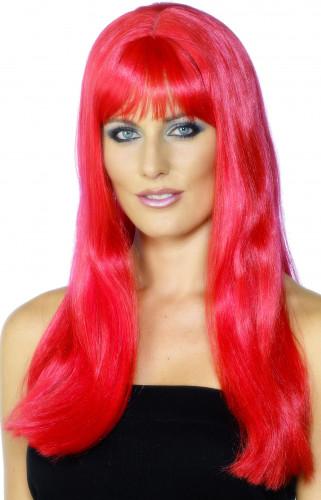 Perruque mystique rouge femme