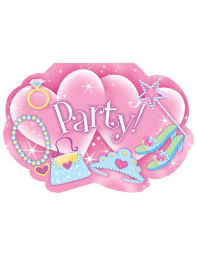 Invitations party princesse