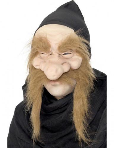 Masque de vieux sorcier