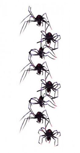 Décoration à suspendre araignées Halloween