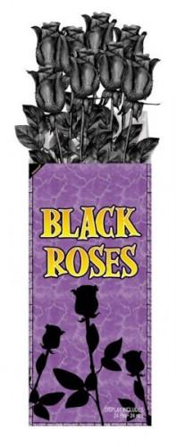 Décoration roses noires