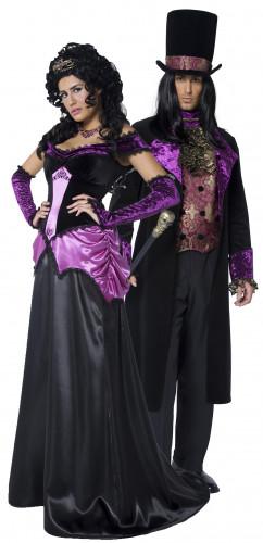 Déguisements de couple comte et comtesse d'Halloween