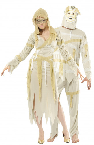 Déguisements de couple de momies Halloween