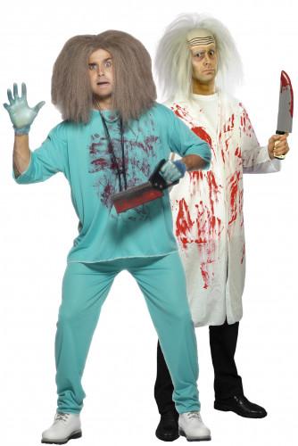 Déguisements de couple de docteurs fous
