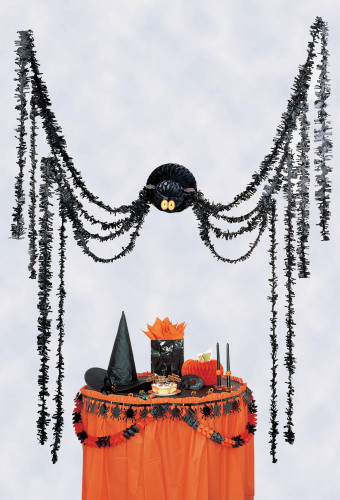 Décoration à suspendre araignée Halloween