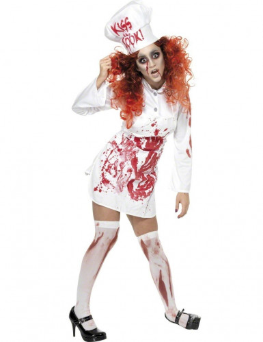 Kit cuisinière zombie femme