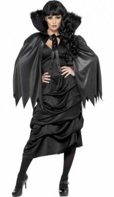 Cape de sorcière Halloween femme