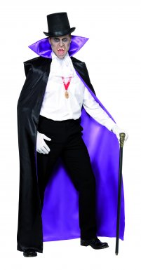 Cape Reversible de Comte Adulte Halloween