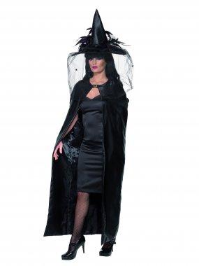 Cape sorcière de luxe Halloween