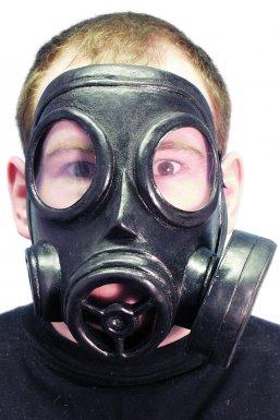 Masque à gaz adulte halloween