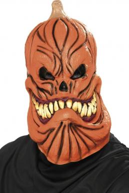 Masque de citrouille effrayante