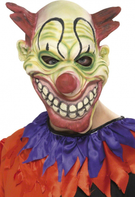 Masque intégral de clown Halloween adulte