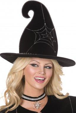 Chapeau de sorcière luxe adulte Halloween