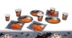 Kit table citrouille halloween