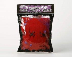 Toile d'araignée rouge