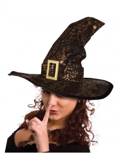 Chapeau sorcière serpent halloween adulte