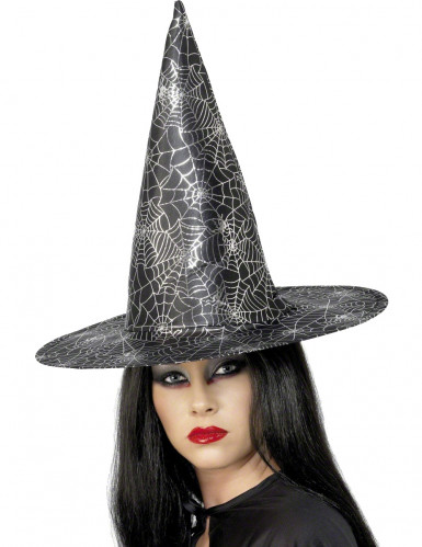 Chapeau sorcière araignée femme Halloween