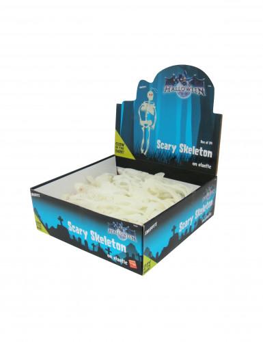 Squelette Articulé phosphorescent Halloween