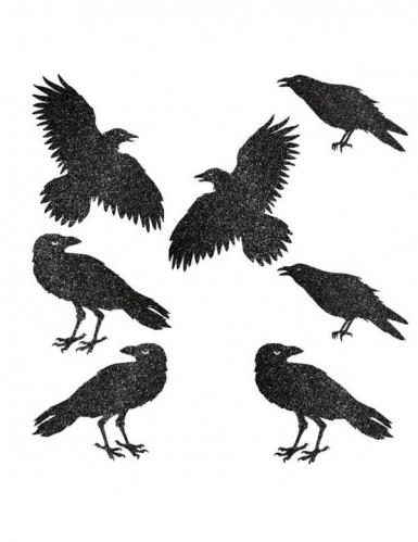 Décoration corbeaux Halloween
