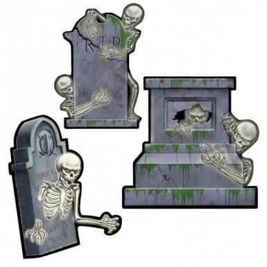 Décoration cimetière Halloween
