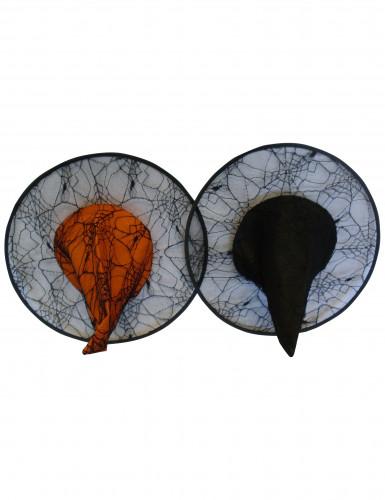 Lot de 2 chapeaux de sorcières Halloween