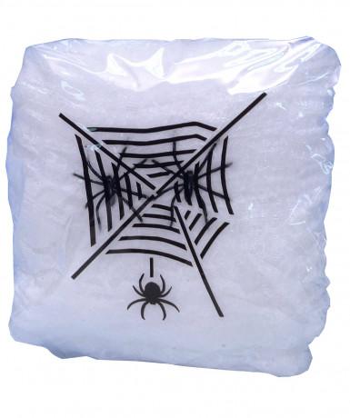 Toile d'araignée blanche Halloween
