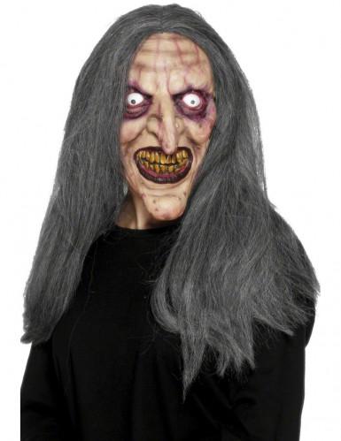 Masque de vieille sorcière Halloween