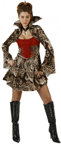 Déguisement de vampire Halloween femme