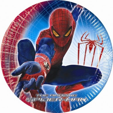 10 platos The Amazing Spiderman?