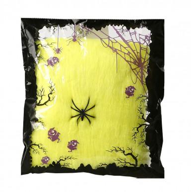 Toile d'araignée jaune